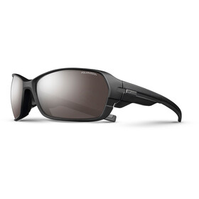 Julbo Dirt² Polarized 3+ Sunglasses Matt Black/Black-Gray Flash Silver